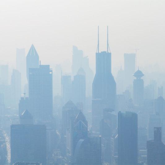 Stickstoffoxid (NO) ist fester Bestandteil von Smog