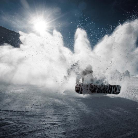 Kälte und Sport sind manchmal zwei unterschiedliche paar Ski-Schuh!