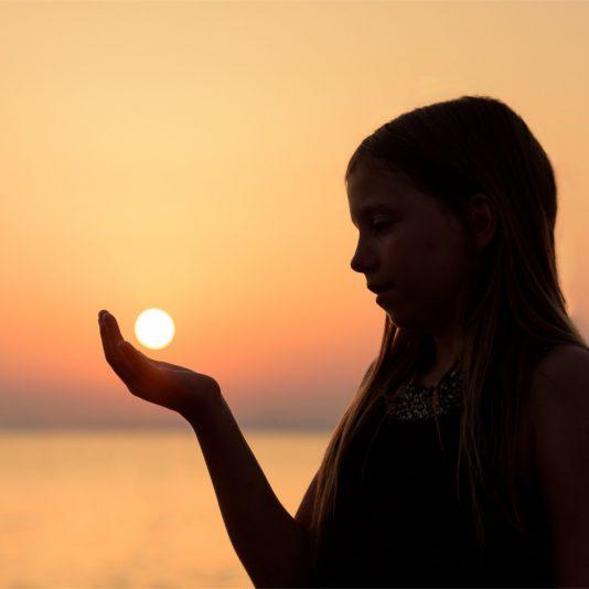 Sonne für Kinder